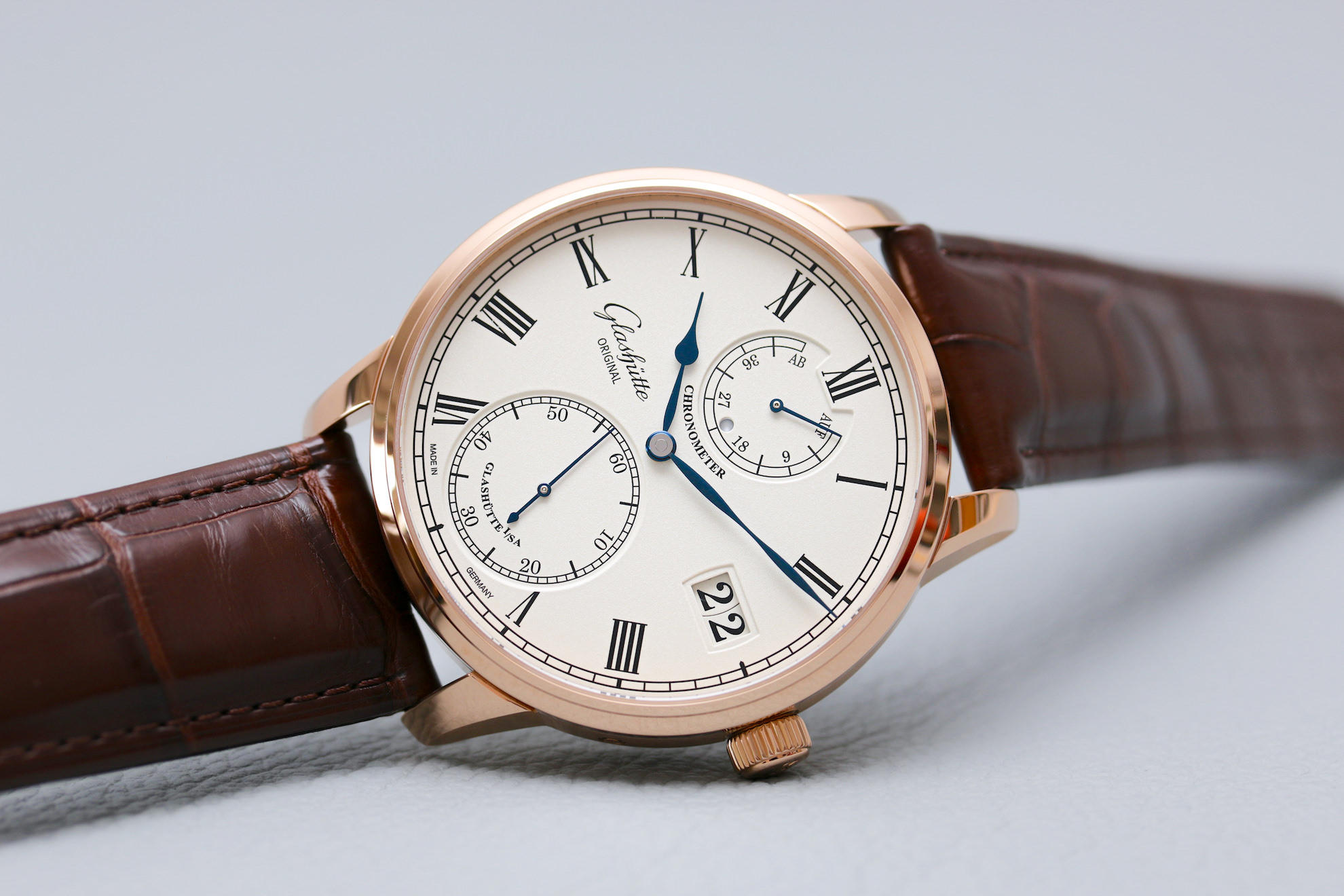 Die Glashütte Original Senator Chronometer
