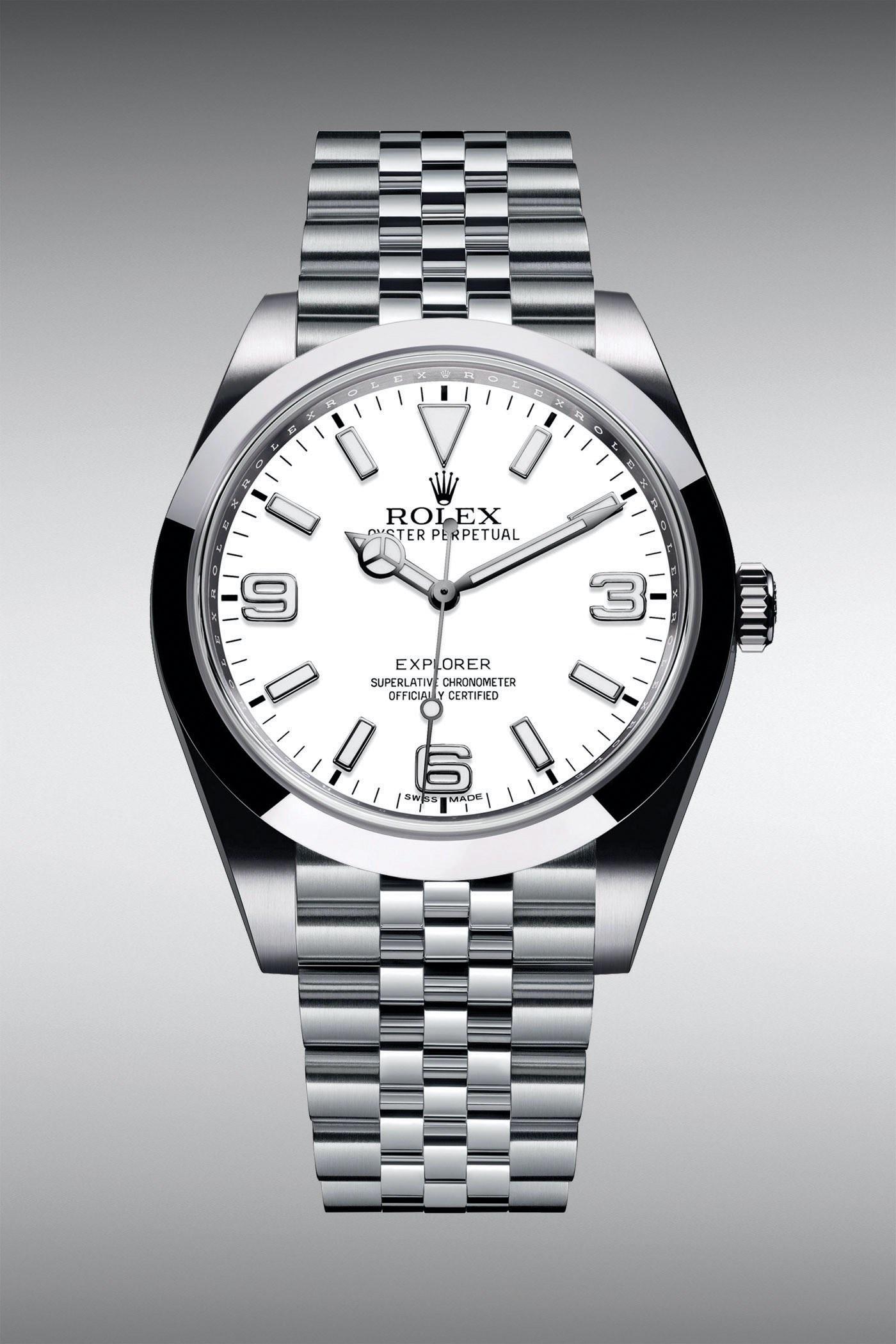 Rolex Explorer 39 Polar White Dial Jubilee Bracelet - Rolex Baselworld 2020 - Rolex 2020 Predictions