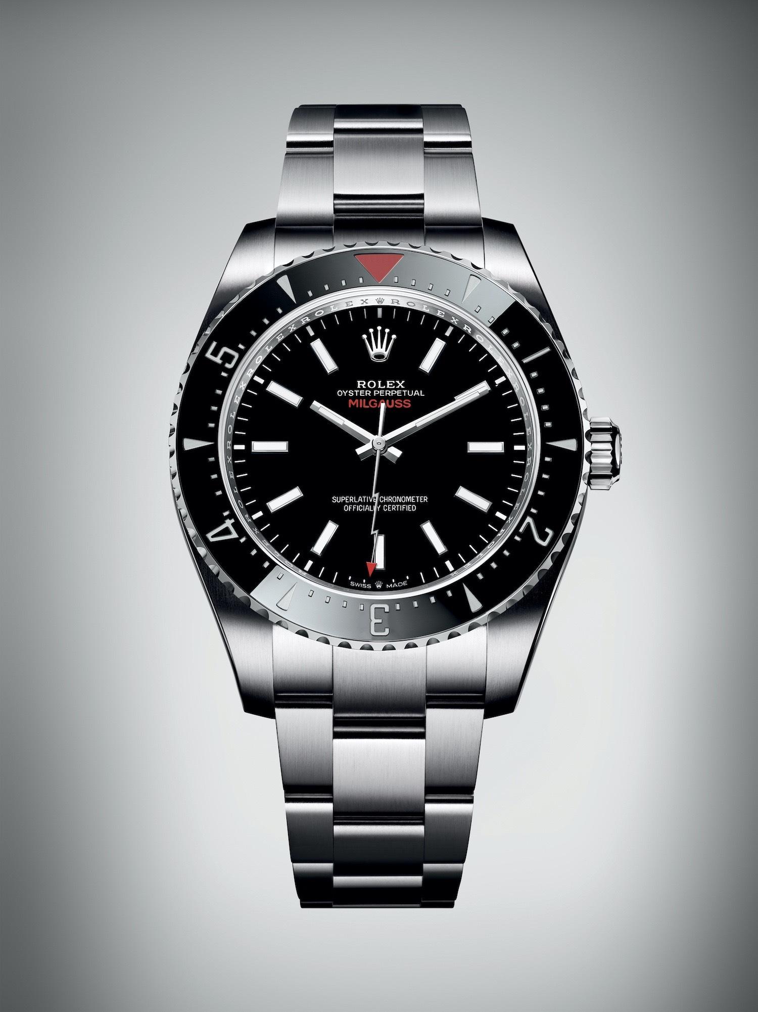 Rolex Milgauss Ceramic Bezel - Rolex Baselworld 2020 - Rolex 2020 Predictions