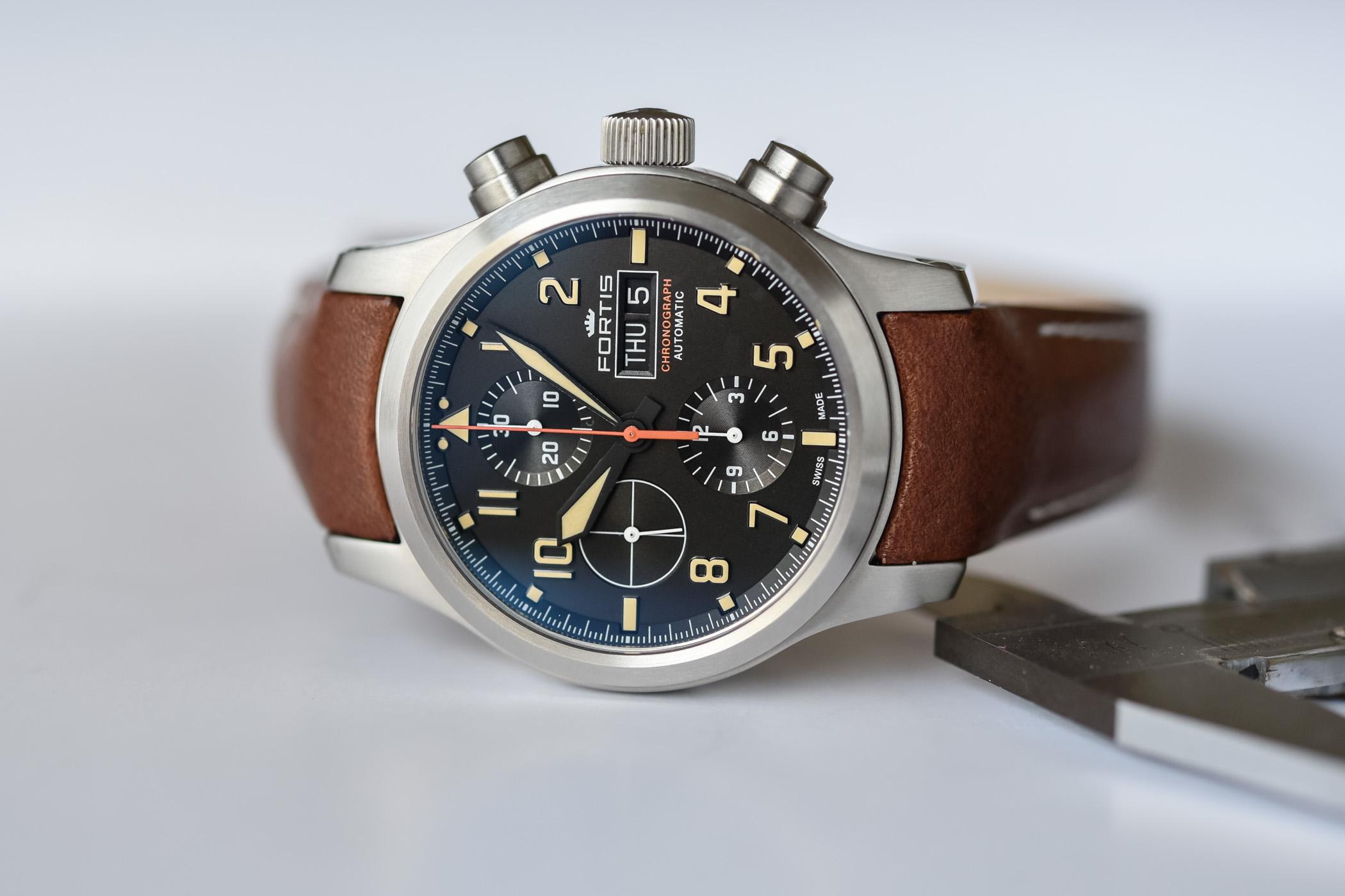 Fortis Aeromaster Old Radium Chronograph