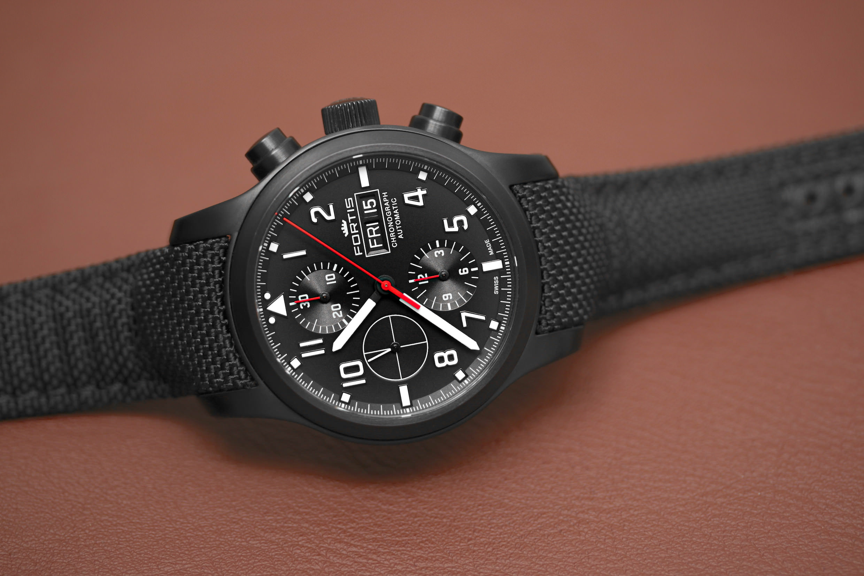 Der Fortis Aeromaster Professional Chronograph