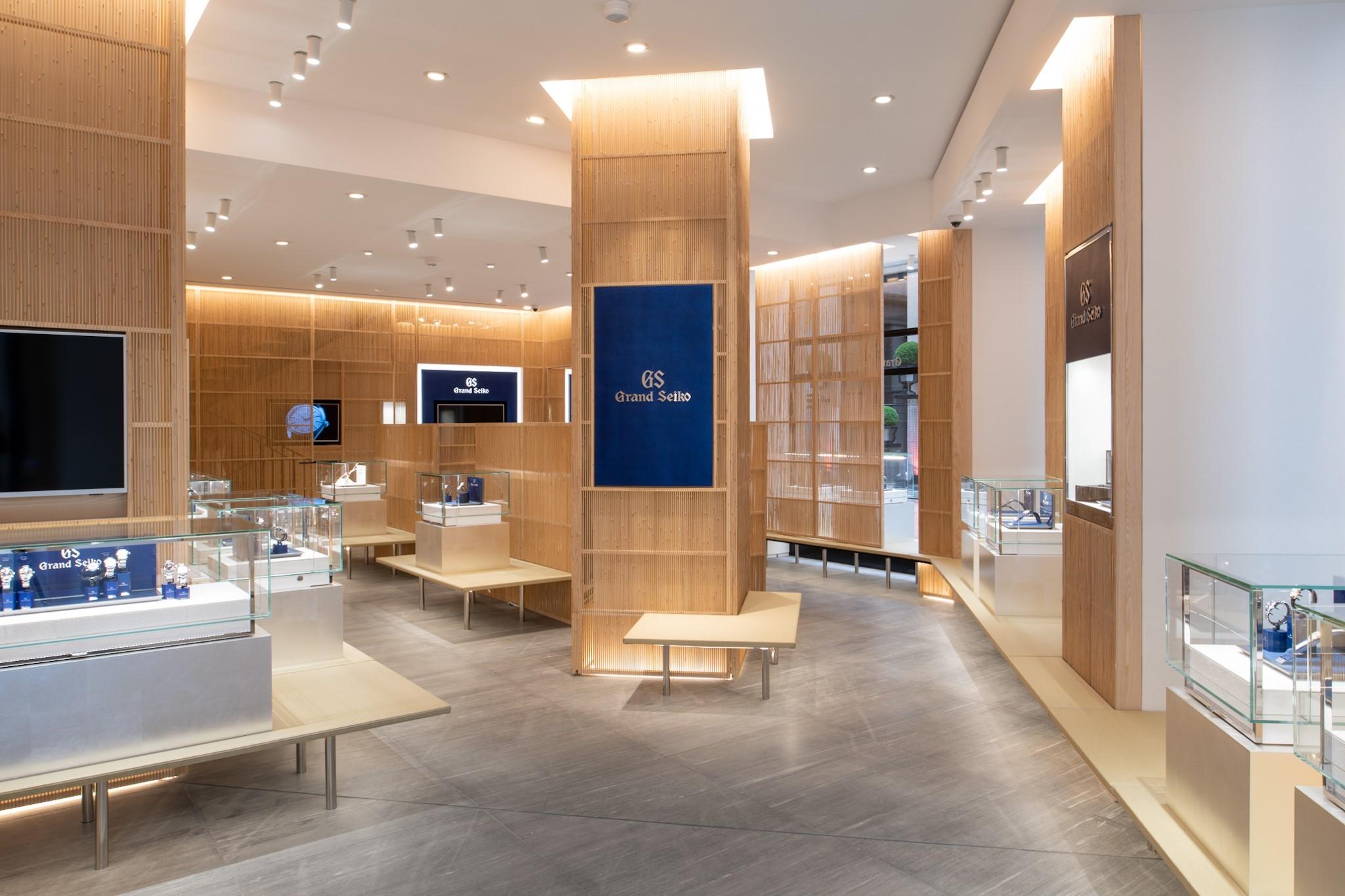 Die neue Grand Seiko Boutique in Paris