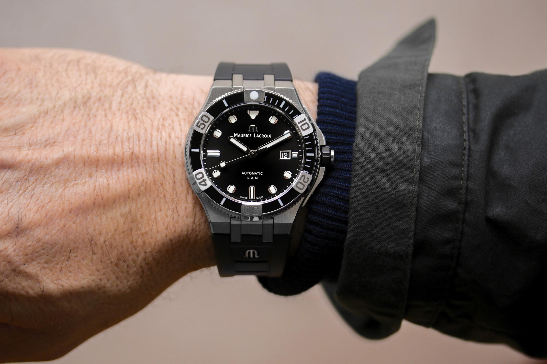 Wristshot der Maurice Lacroix Aikon Venturer