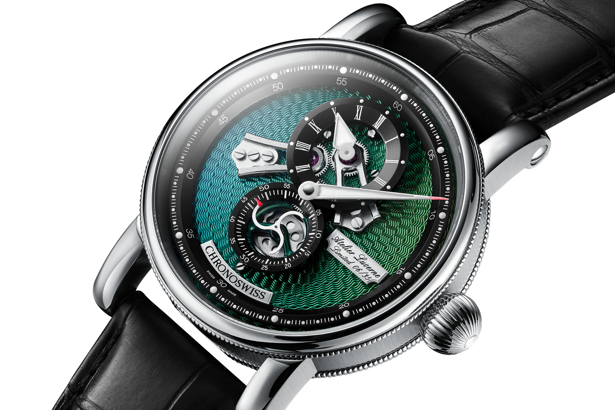 Chronoswiss Flying Regulator Open Gear Ocean