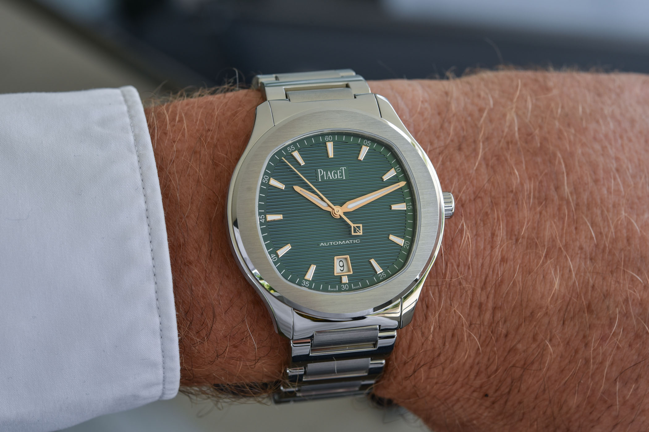 Piaget Polo S Automatic Green-and-Gold Limited Edition