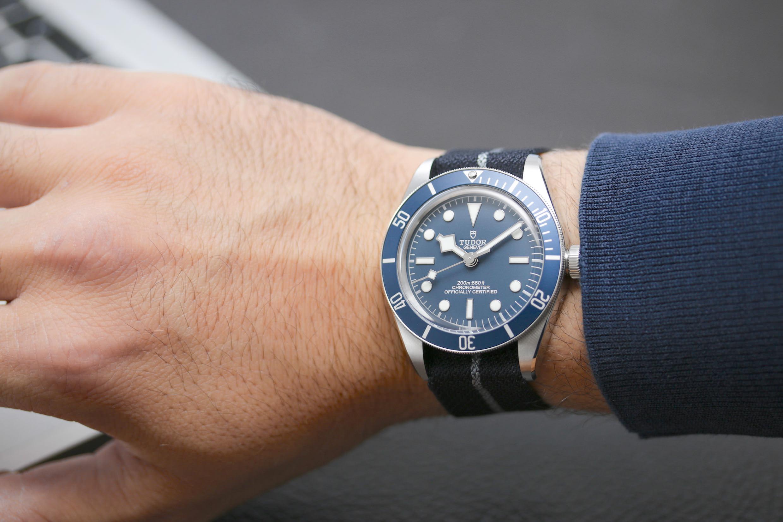 Die Tudor Black Bay Fifty-Eight Navy Blue
