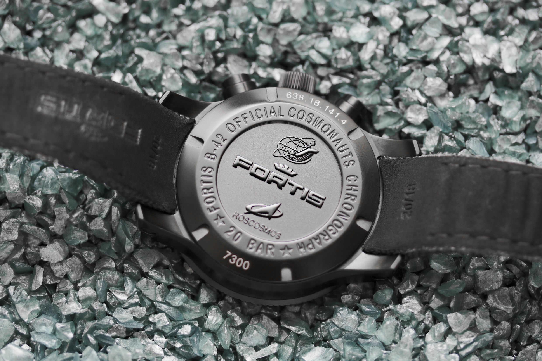 Der Rückdeckel der Uhr