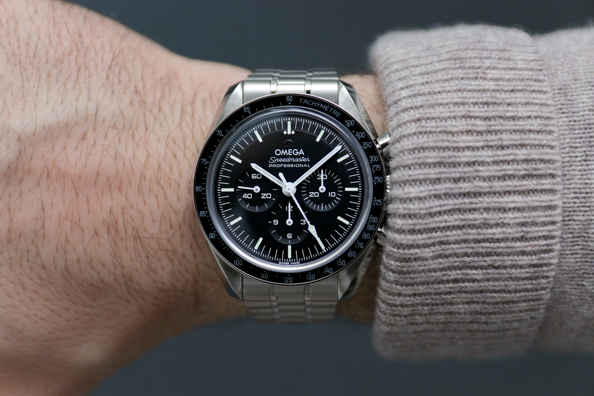Die neue Omega Speedmaster Moonwatch