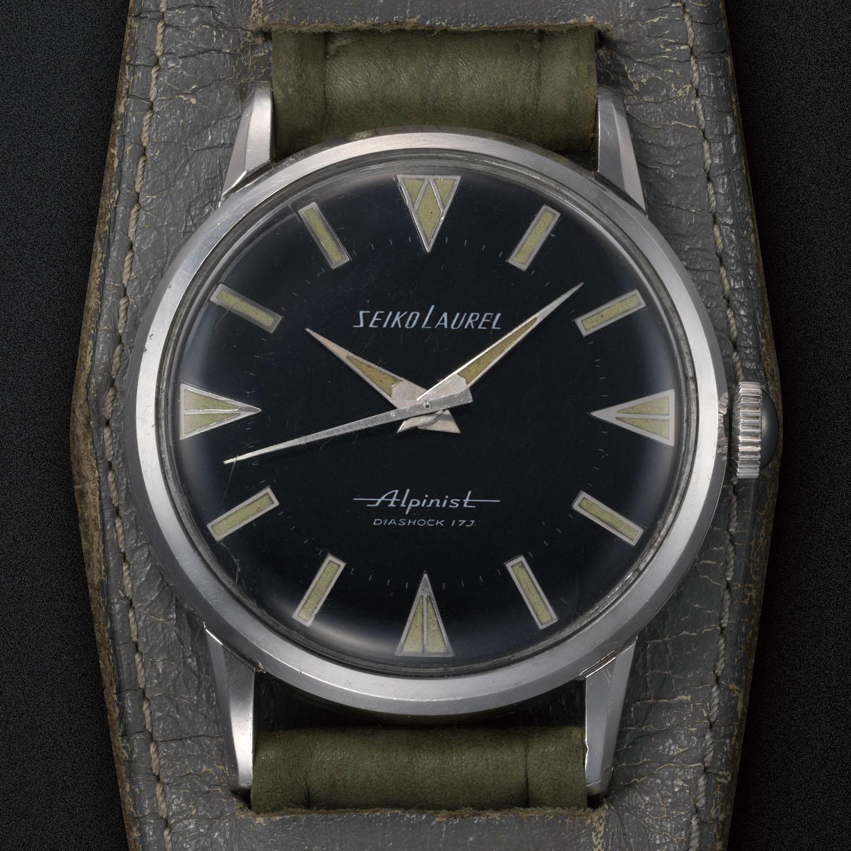 1959 Seiko Alpinist Seiko's first sports watch
