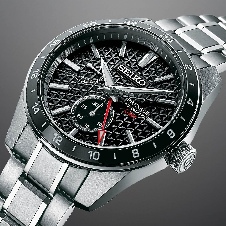 2021 Seiko Presage Sharp Edged GMT Collection SPB217J1-SPB219J1-SPB221J1-SPB225J1