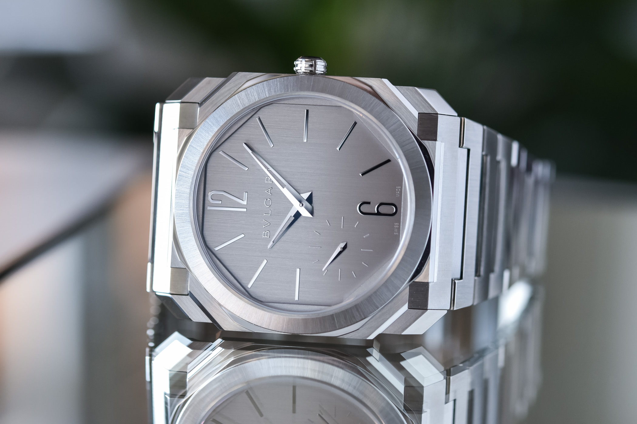 Bvlgari Octo Finissimo S Steel Silvered Dial 103464