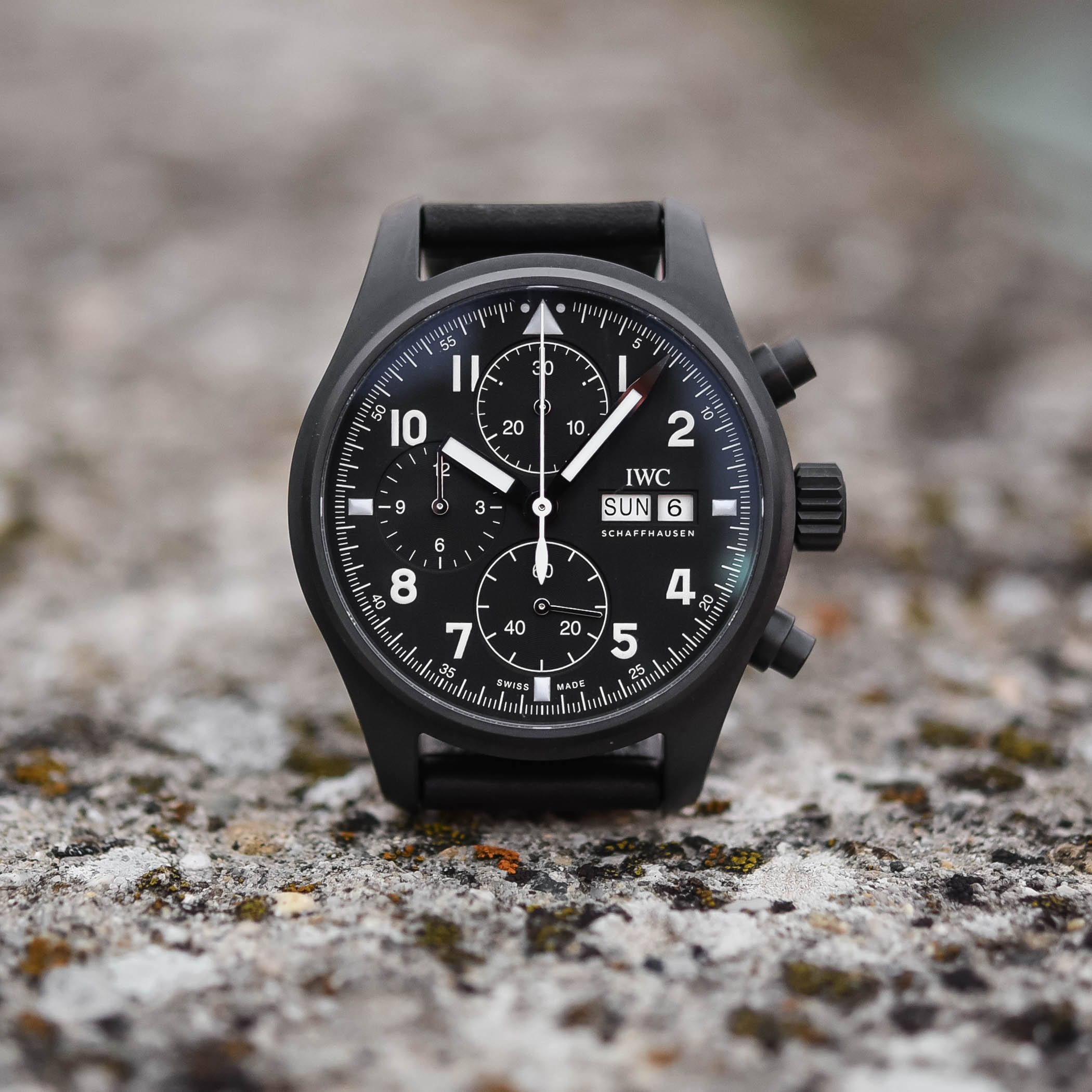 IWC Pilot's Watch Chronograph Edition Tribute to 3705 Ceratanium IW387905