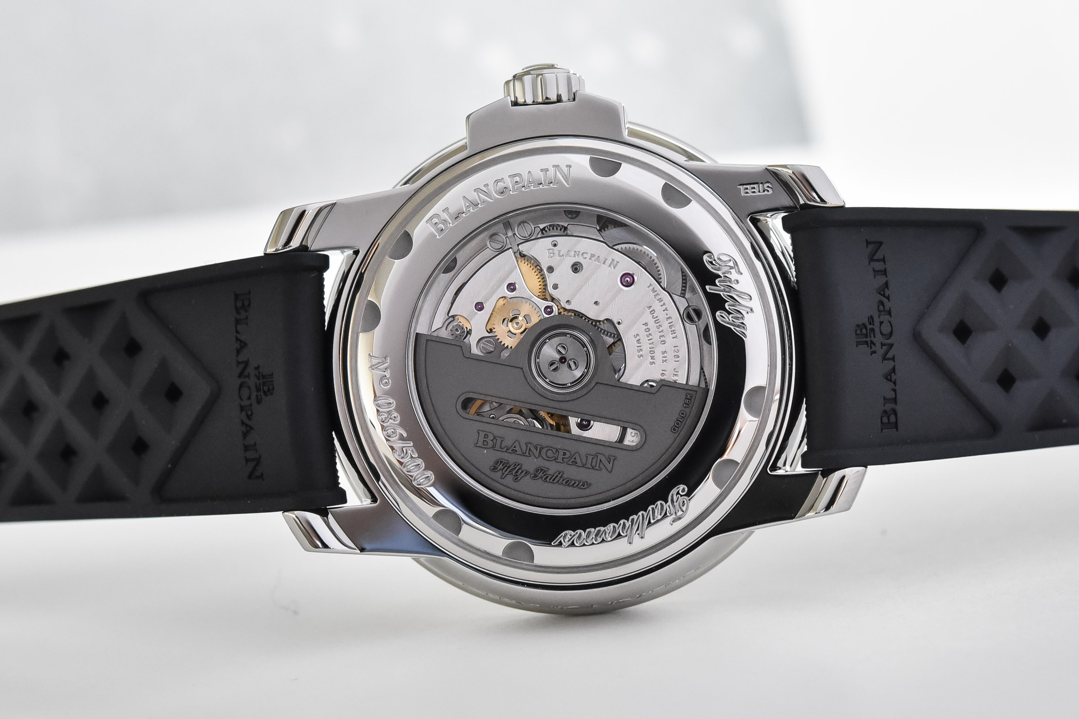 2021 Blancpain Tribute to Fifty Fathoms No Rad Limited Edition - 5008D-1130-B64A