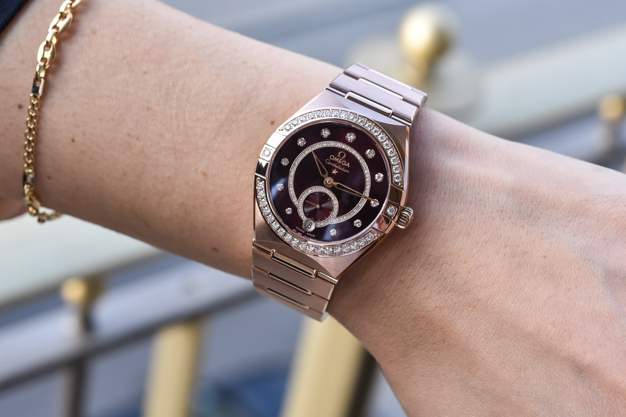 2021 Omega Constellation Small Seconds