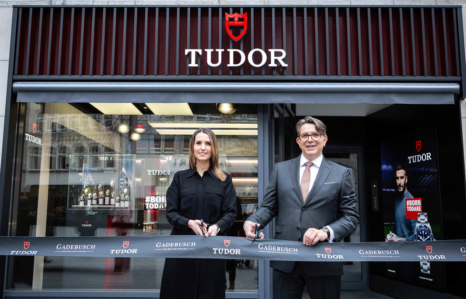 Die erste Tudor Boutique in Deutschland