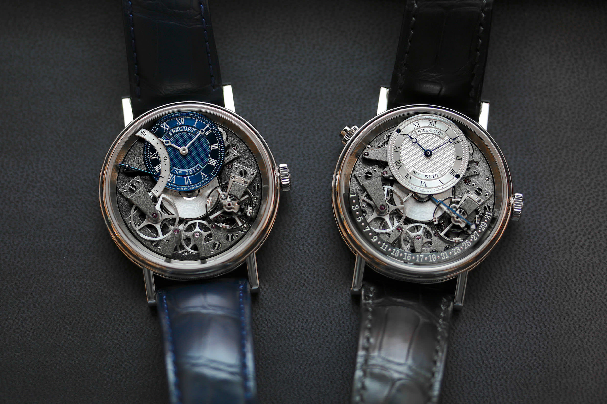 Zwei Breguet Tradition Modelle