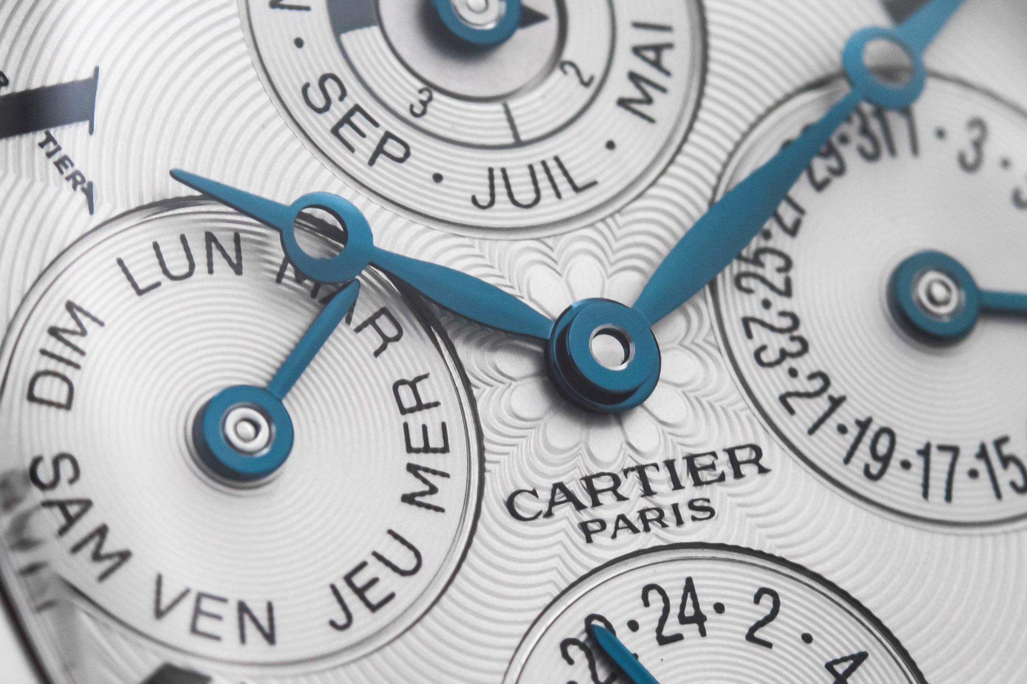 Cartier Tortue Perpetual Calendar CPCP