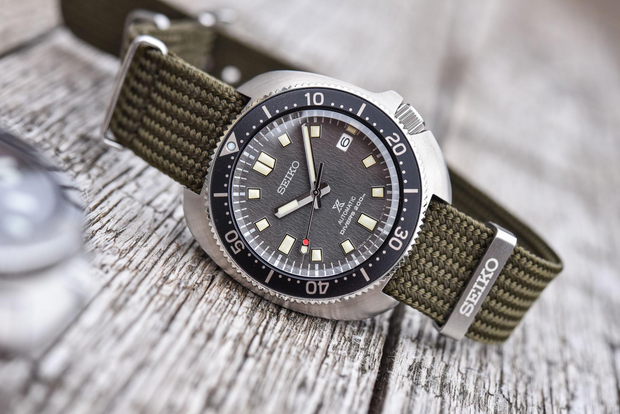 2021 Seiko Prospex Divers 1965 and 1970 Re-interpretation fabric straps SPB239J1 SPB237J1