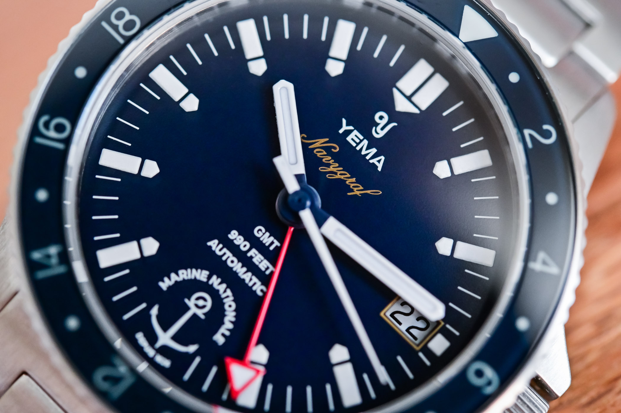 Yema Navygraf Marine Nationale GMT