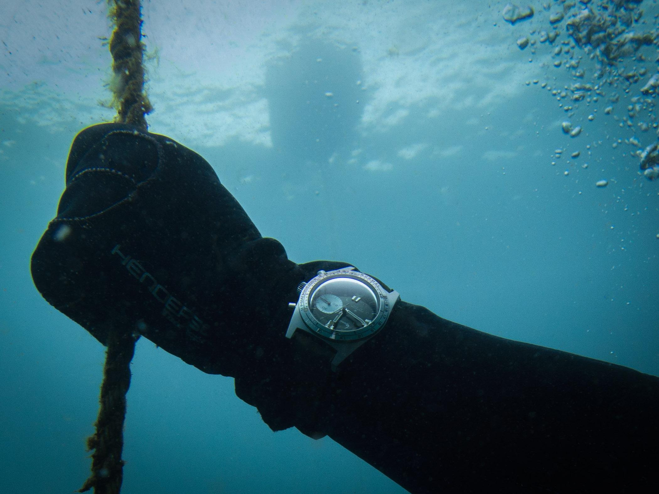 Aquastar Deepstar Greenwich Diving Chronograph