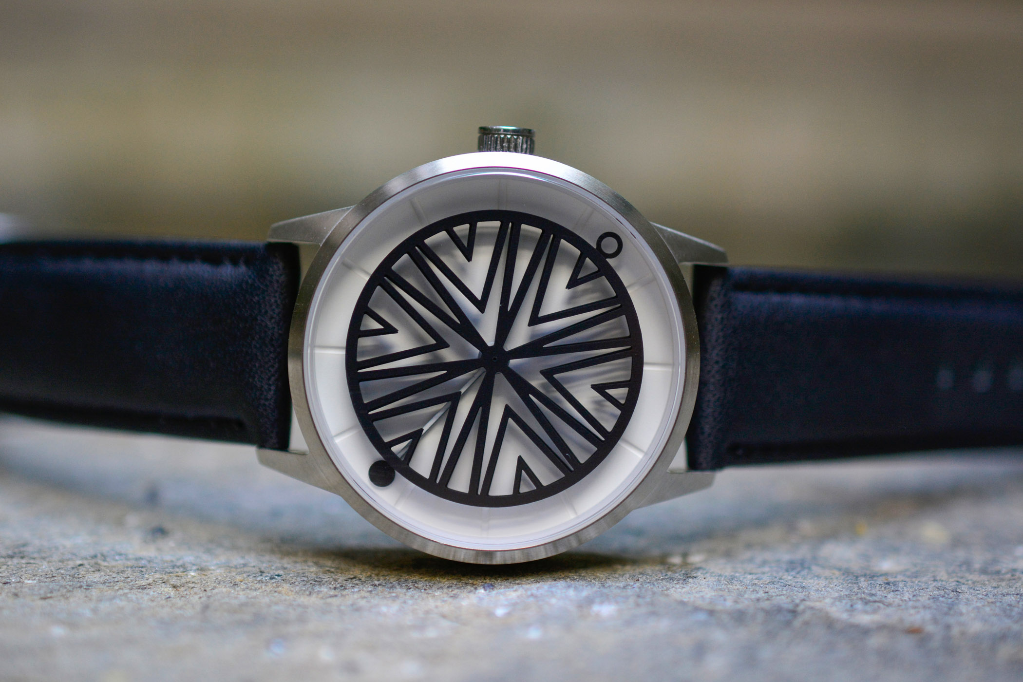 Humism Rhizome Automatic - Accessible Kinetic Art Watch