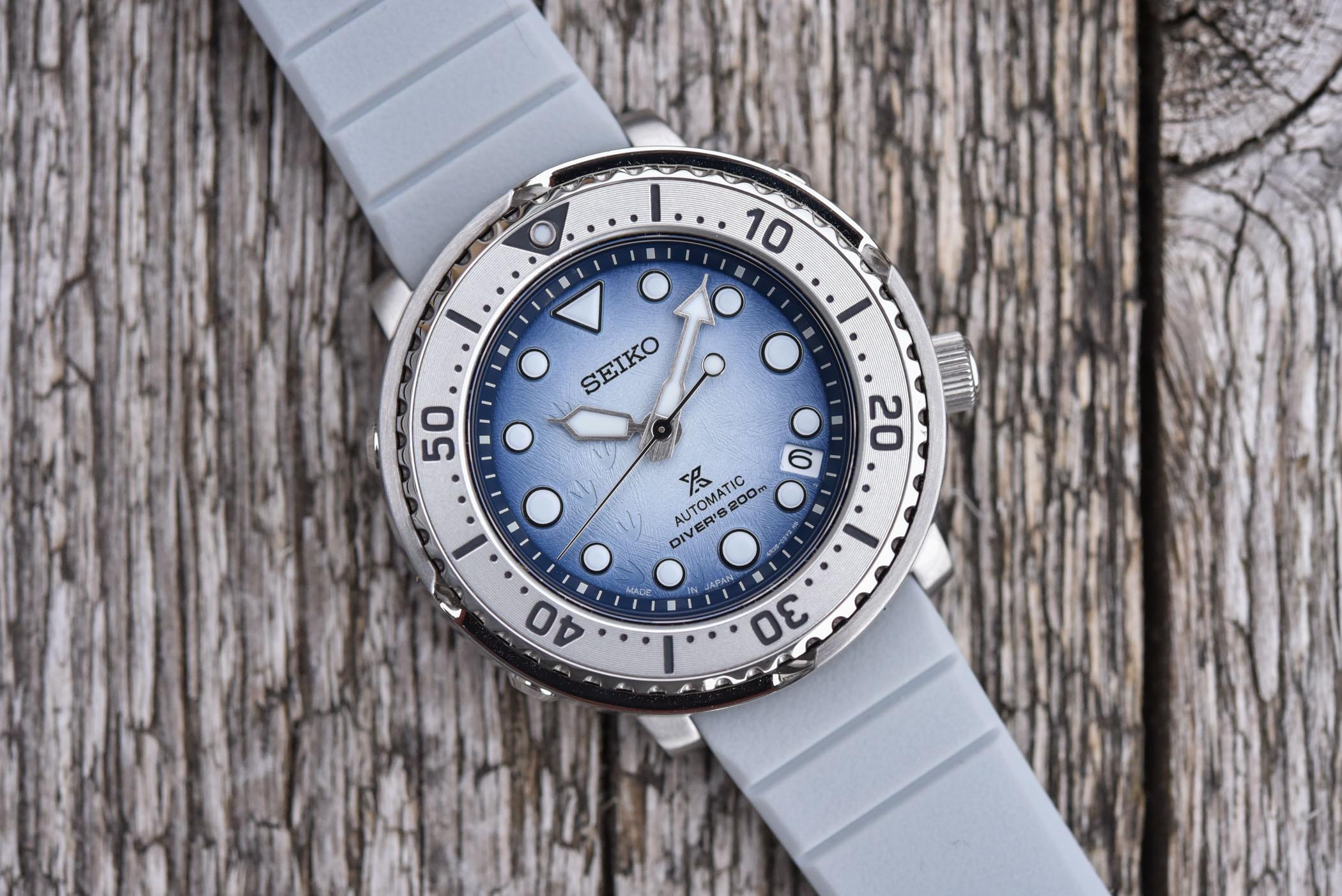 Seiko Prospex Save The Ocean Antarctica Baby Tuna SRPG59K1