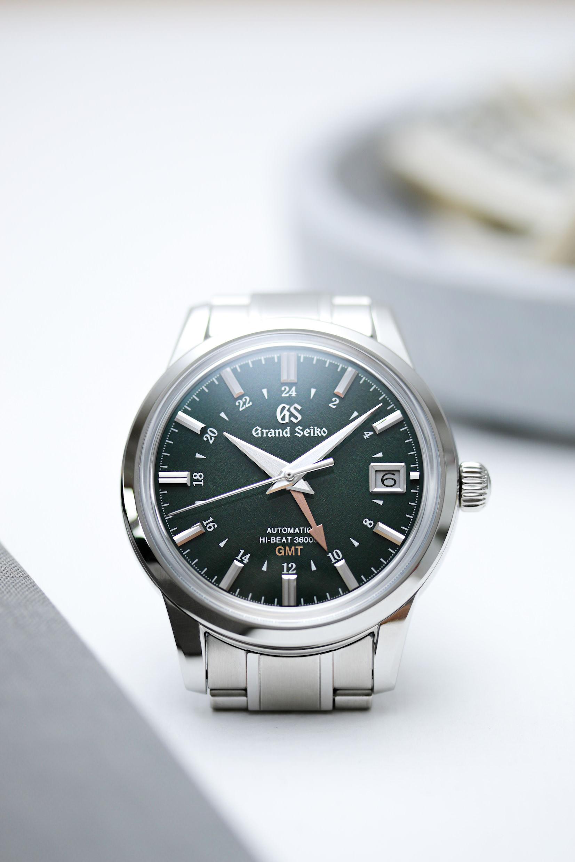 Die Grand Seiko GMT sbgj251 Shunbun