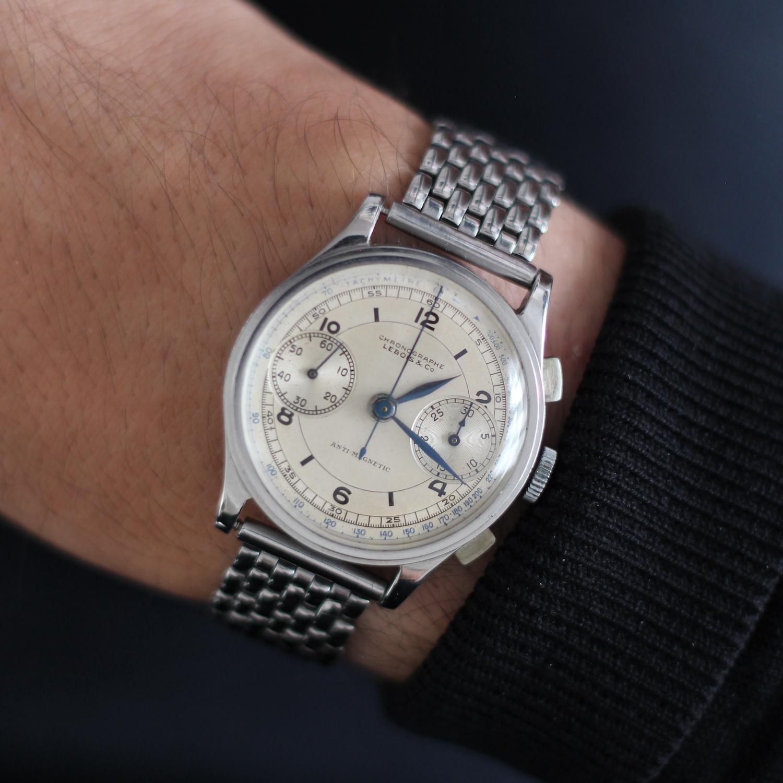 vintage lebois chronograph 1