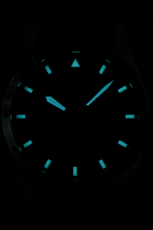 Lumeshot der neuen Fortis Flieger Midnight Blue