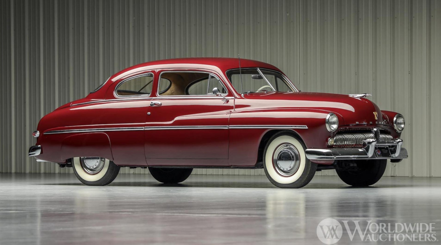 1949 Mercury Eight Coupe - Image from WorldWide Auctioneers