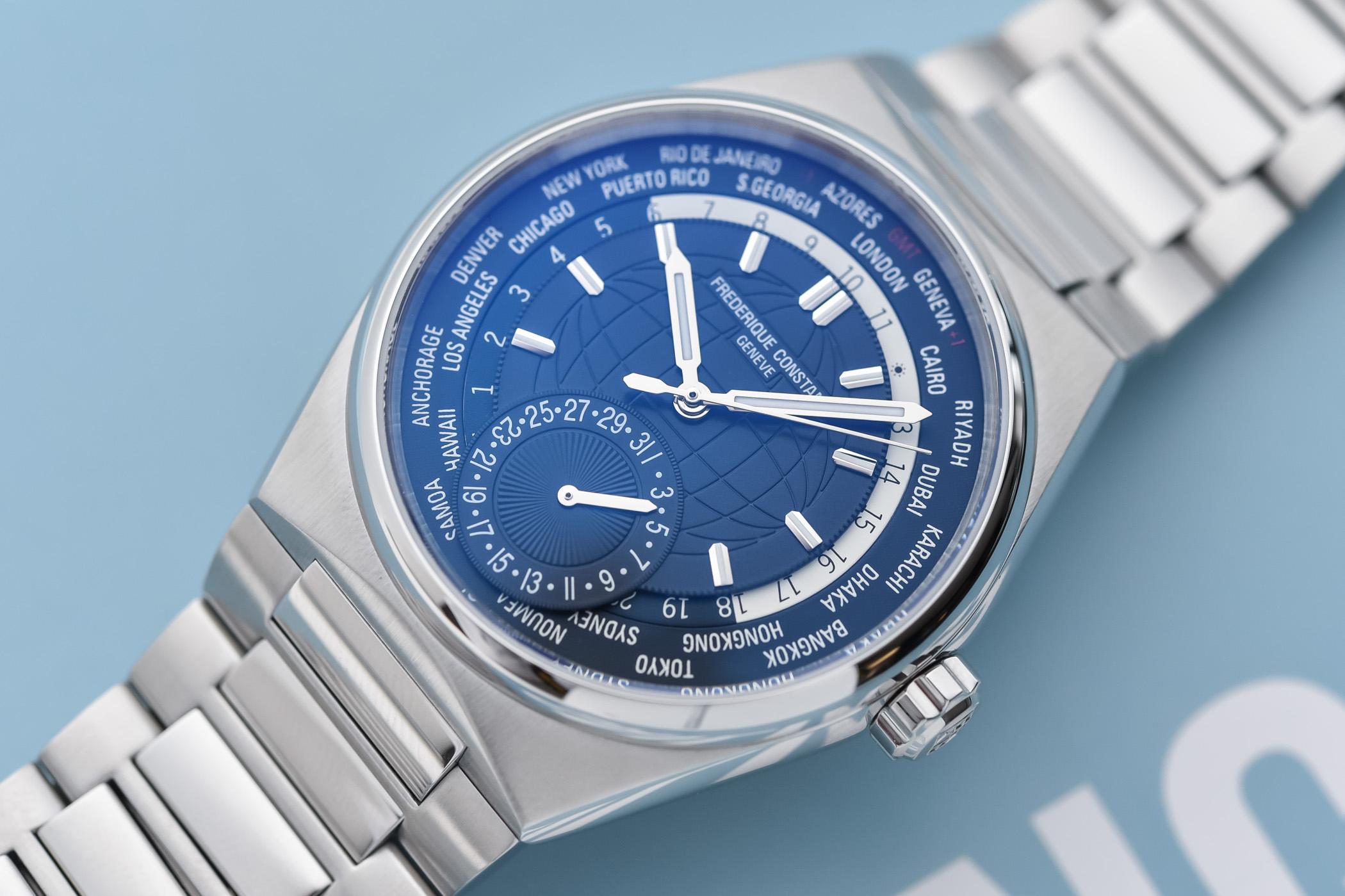 Frederique Constant Highlife Worldtimer Manufacture - FC-718N4NH6B