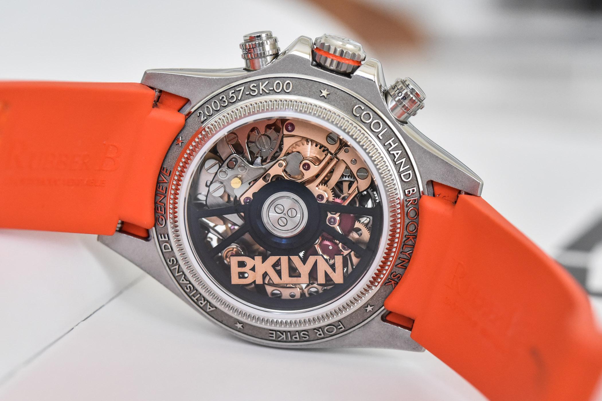 Artisans de Genève The Cool Hand Brooklyn Skeleton Daytona for Spike Lee