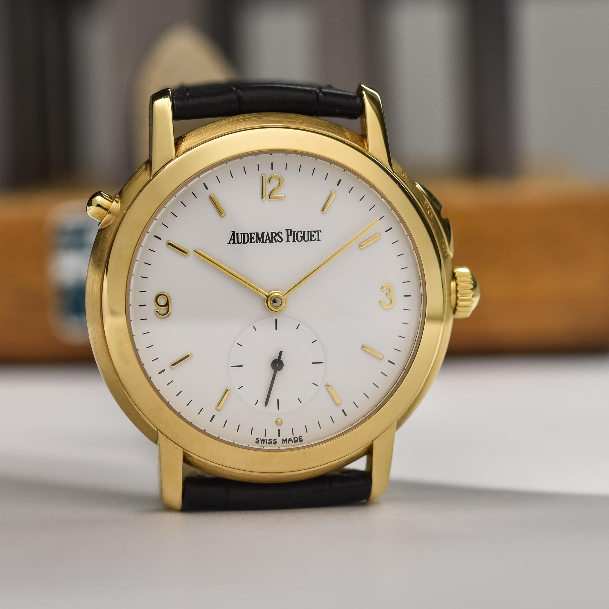Audemars Piguet quarter repeating grande and petite sonnerie wristwatch 25750BA calibre 2868
