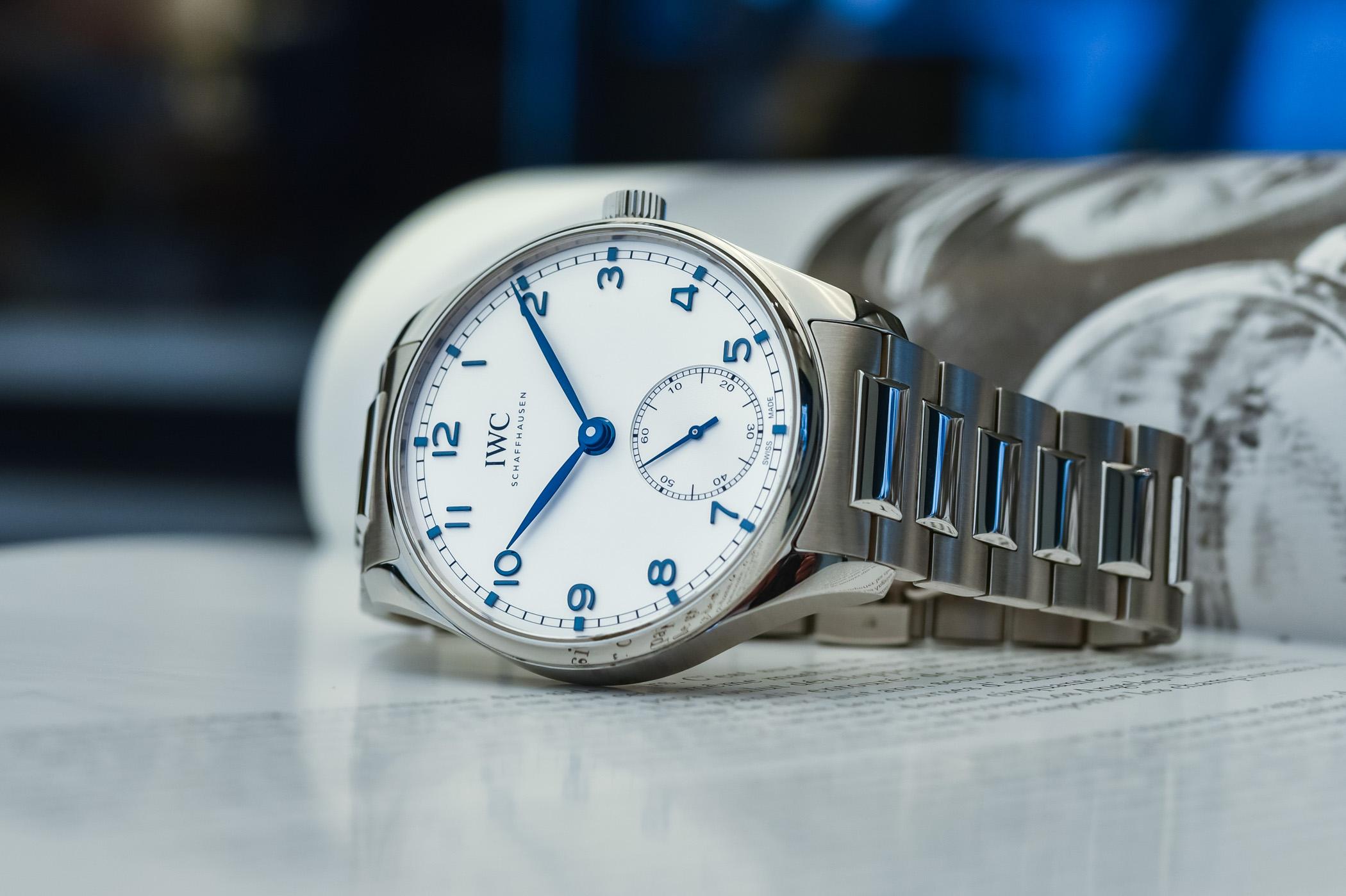 IWC Portugieser Automatic 40 Steel bracelet IW358312