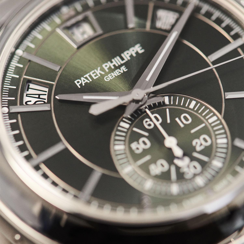 Patek Philippe Chronograph Annual Calendar 5905/1A Steel Olive Green