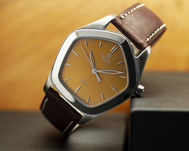 Tzoumy Watches - Pentagon-Shaped Watch Launching on Kickstarter