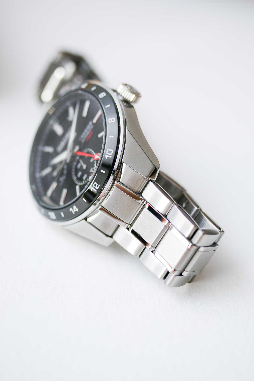 Seiko Presage Sharp Edged GMT