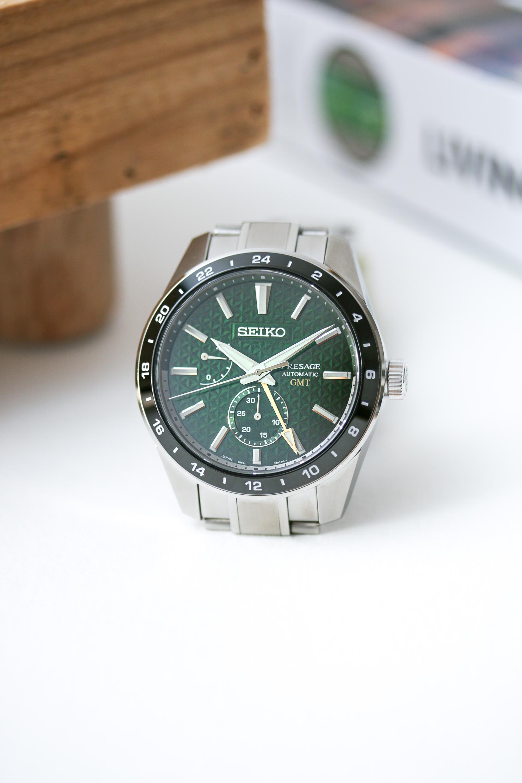 Die Seiko Presage Sharp Edged GMT SPB219