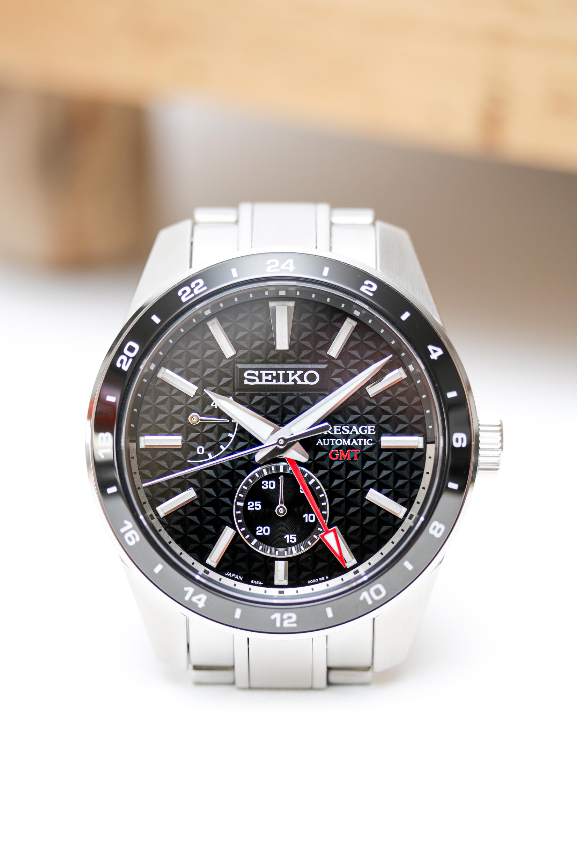 Die Seiko Presage Sharp Edged GMT SPB221